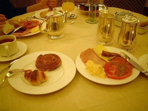 ウェリントンの朝食