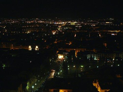 グラナダの夜景