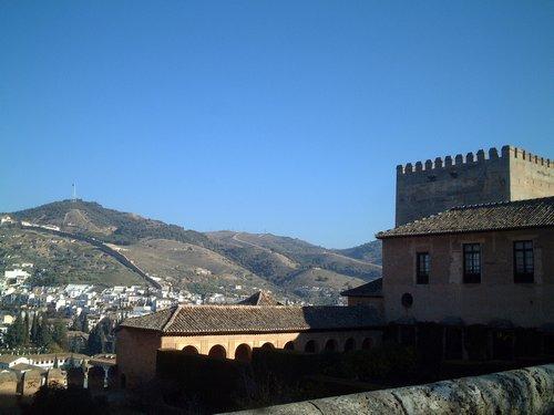 宮殿からの風景