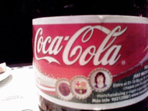コカコーラのプジョル