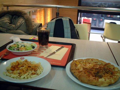 最後のスペイン昼食