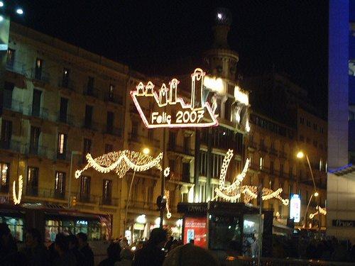 バルセロナの夜