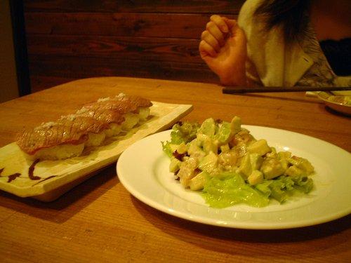 漁礁の料理