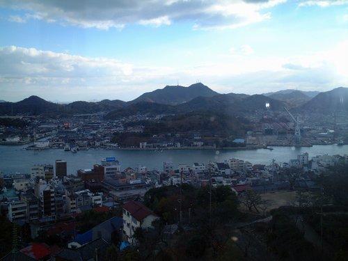千光寺公園からの景色