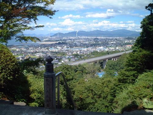 長谷寺からの風景