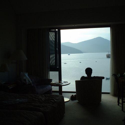 箱根ホテルからの芦ノ湖