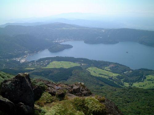駒ヶ岳からの芦ノ湖